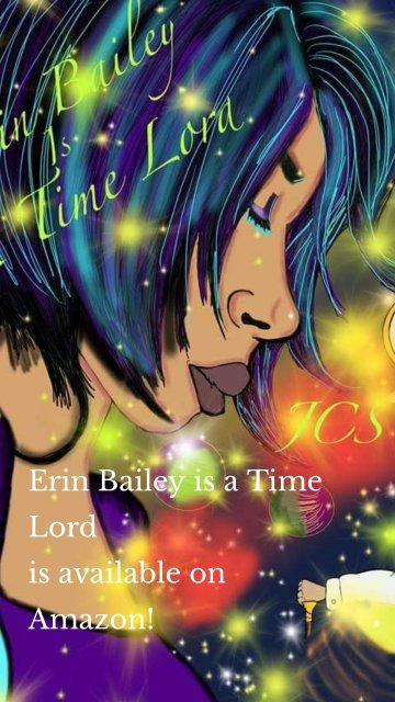 Erin Bailey is a Time Lord is available on Amazon!