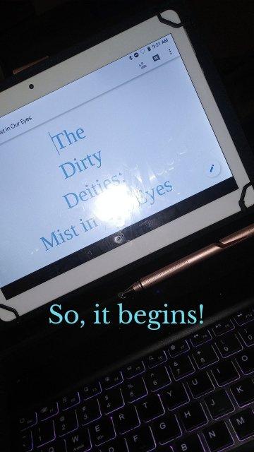 So, it begins!