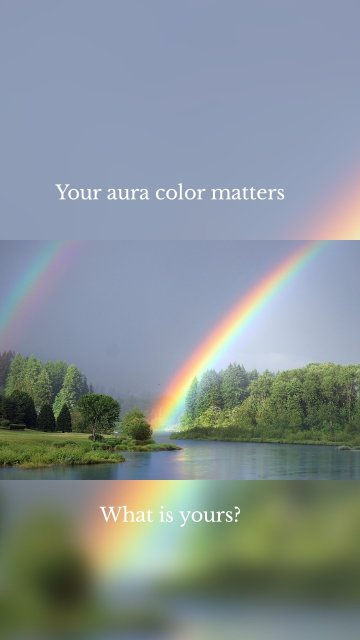 Your aura color matters What is yours?