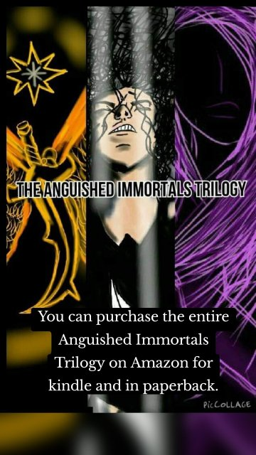 You can purchase the entire Anguished Immortals Trilogy on Amazon for kindle and in paperback.