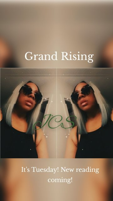 It's Tuesday! New reading coming! Grand Rising